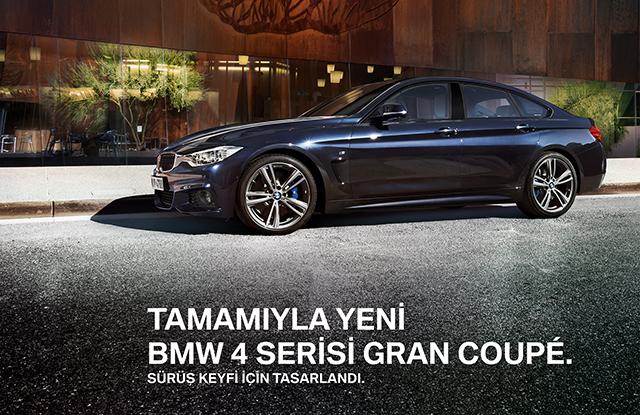 BMW 4 Serisi GranCoupé Çangar Motors'da