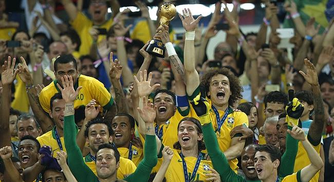 İspanya'ya fark atan Brezilya ŞAMPİYON
