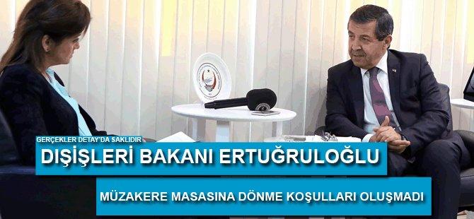 Dışişleri Bakanı Ertuğruloğlu BRT'ye konuştu