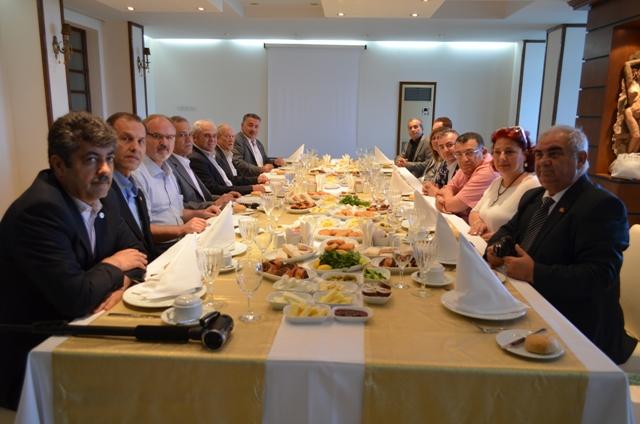 Yorgancıoğlu ile kahvaltı