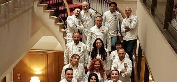 DAÜ Gastronomi ve Mutfak Sanatları bölümü öğretim görevlileri Türkiye Aşçılık Milli Takımı'nda