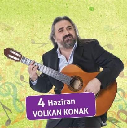 Volkan Konak bu akşam Amfitiyatroda