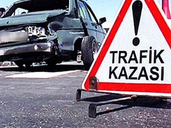 Yine Trafik Kazası: 2 Ölü
