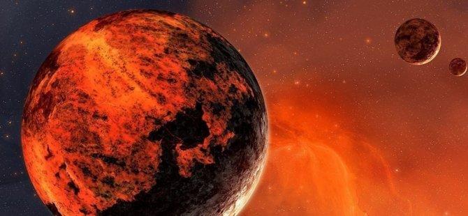 Kızıl Gezegen'de Bulunan Göllere İlişkin Yeni Keşif