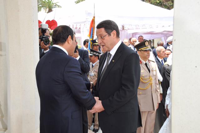 Anastasiades Sisi ile görüştü