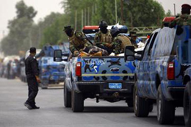 Irak ordusu Tikrit'ten çekildi