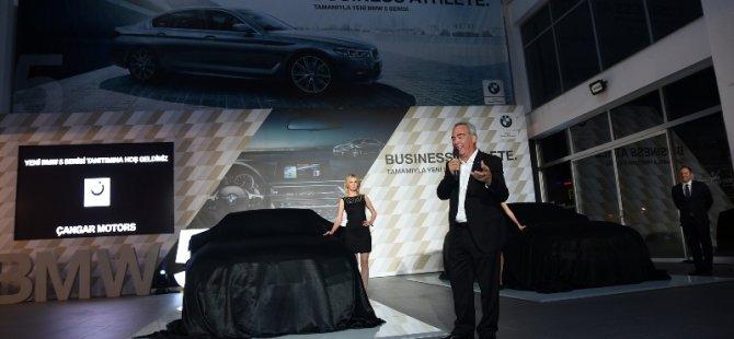 Yeni BMW 5 Serisi, tüm dünya ile aynı anda Çangar Motors'da.