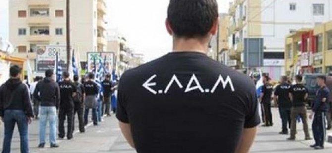 ELAM Merkez Binası'na kırmızı boyalı protesto