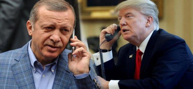 ABD Başkanı Trump, TC Cumhurbaşkanı Erdoğan'ı tebrik ett