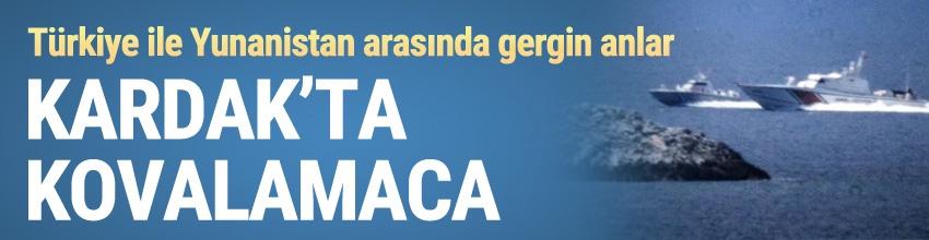 Ege'de gerginlik... Türk ve Yunan botları karşı karşıya geldi!
