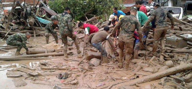 Kolombiya'da toprak kayması: 11 ölü
