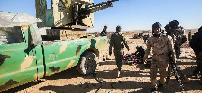 Musul'un batısındaki saldırılarda DEAŞ'ın üst düzey 7 ismi öldü