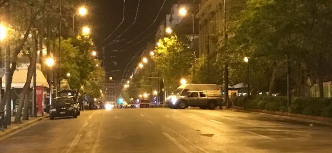 Yunanistan'ın başkenti Atina'da patlama