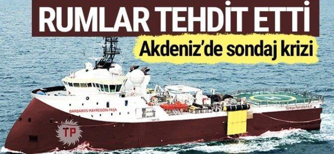 Kıbrıs'ta Sondaj Krizi! Türkiye Navtex yayınlamıştı...