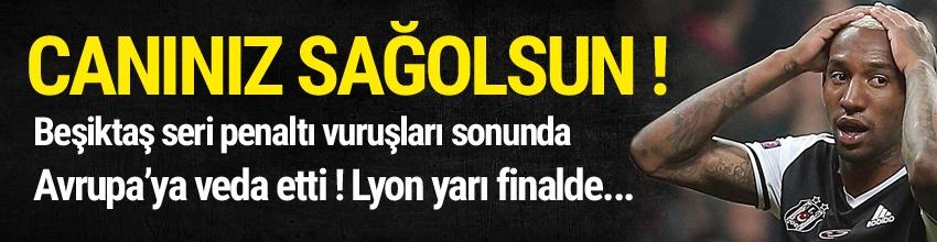 Beşiktaş penaltı atışlarıyla Avrupa'dan elendi