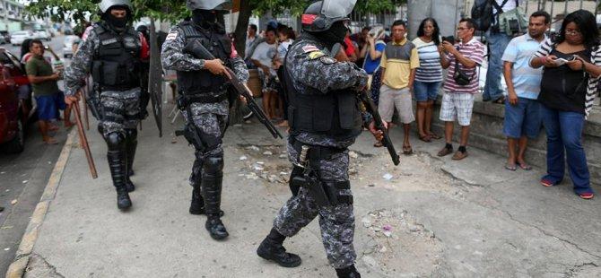 Brezilya'da şiddet olayları.. 24 saatte 4 otobüs ateşe verildi