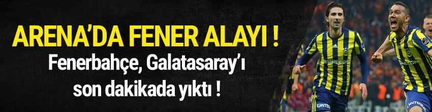 Arena'da Fener Alayı! Galatasaray 0 - 1 Fenerbahçe / Maç sona erdi