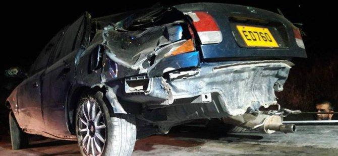 Lefkoşa-Girne Anayolu'nda kaza: 1 kişi hayatını kaybetti...
