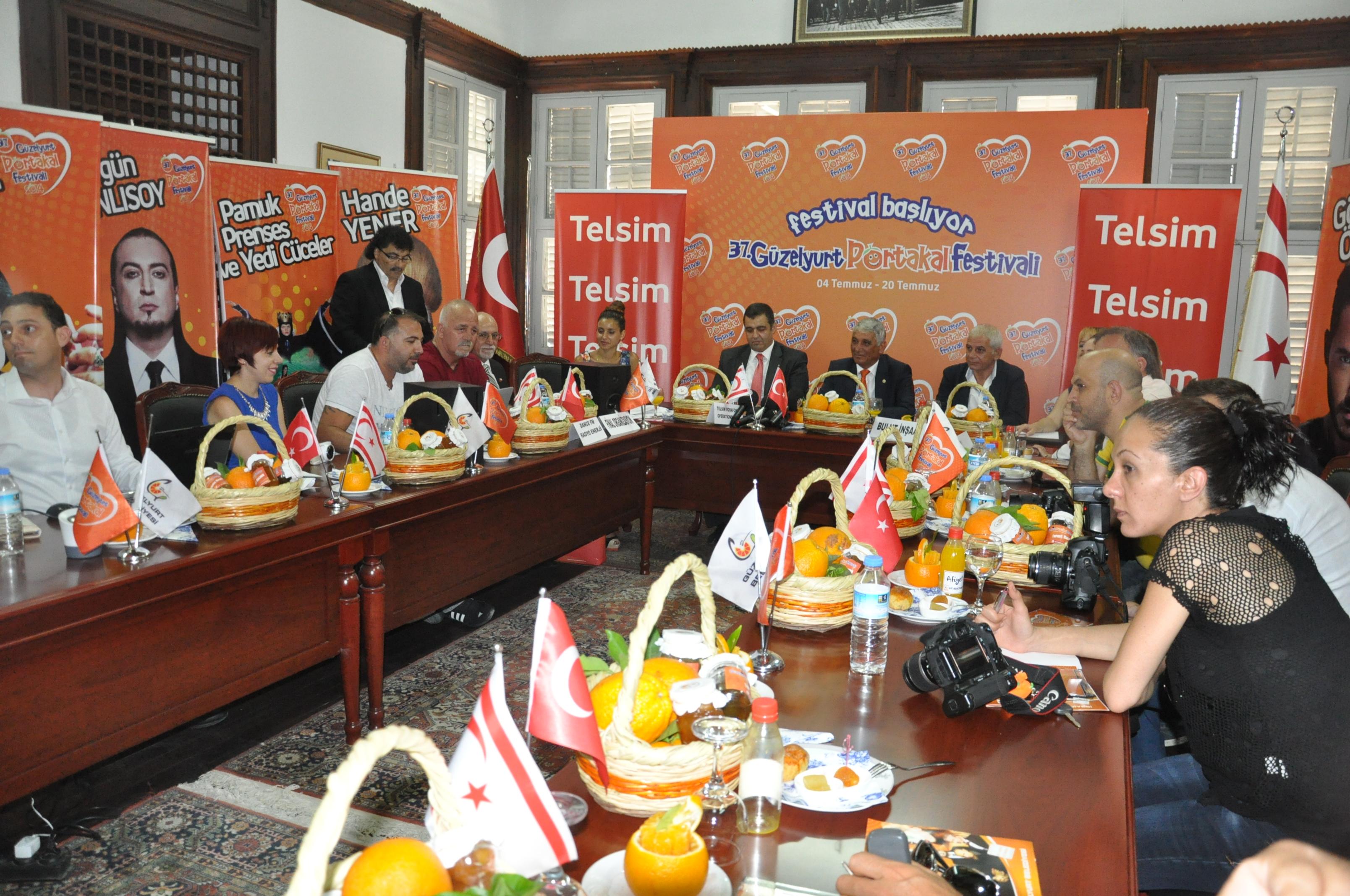 37. Güzelyurt Portakal Festivali basına tanıtıldı