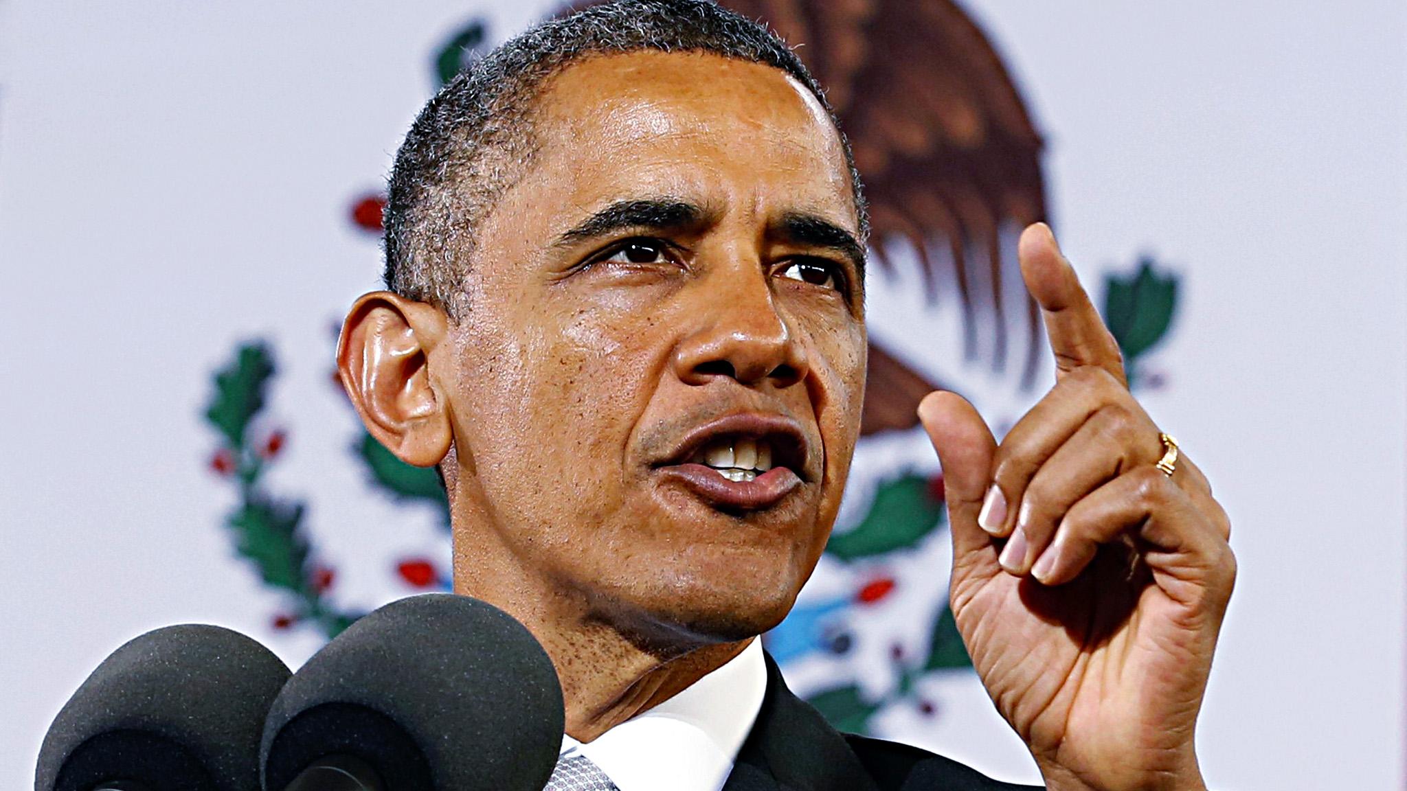 Obama, Irak için Kongre'den onaya ihtiyacım yok'