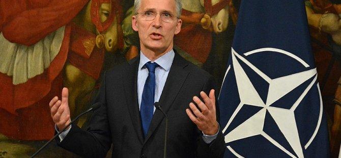 """Stoltenberg: """"Doğu Akdeniz'deki kriz dayanışma ruhuyla çözülmeli"""""""