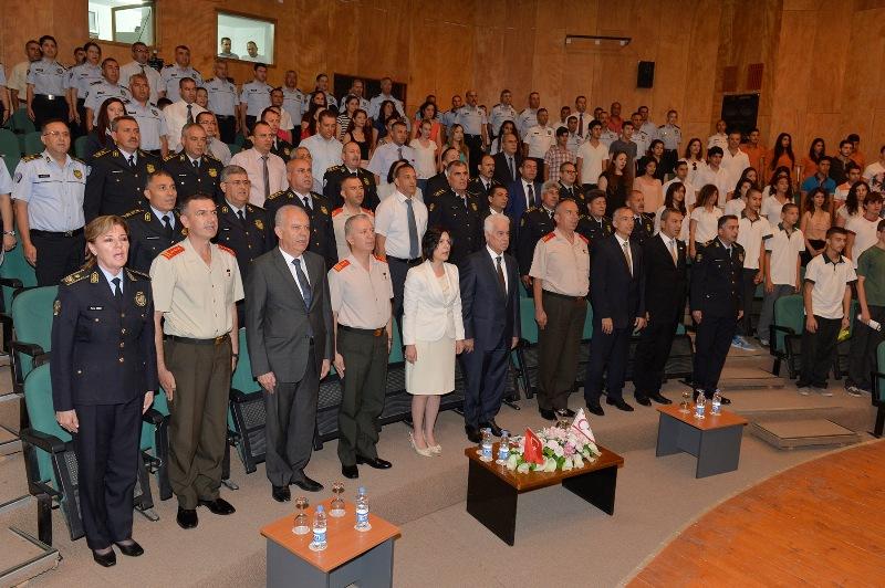 Polis örgütü 50. yılını kutladı
