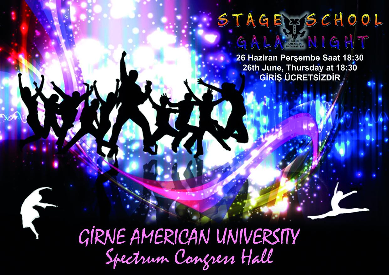 GAÜ Stage School, dans şöleni sunacak