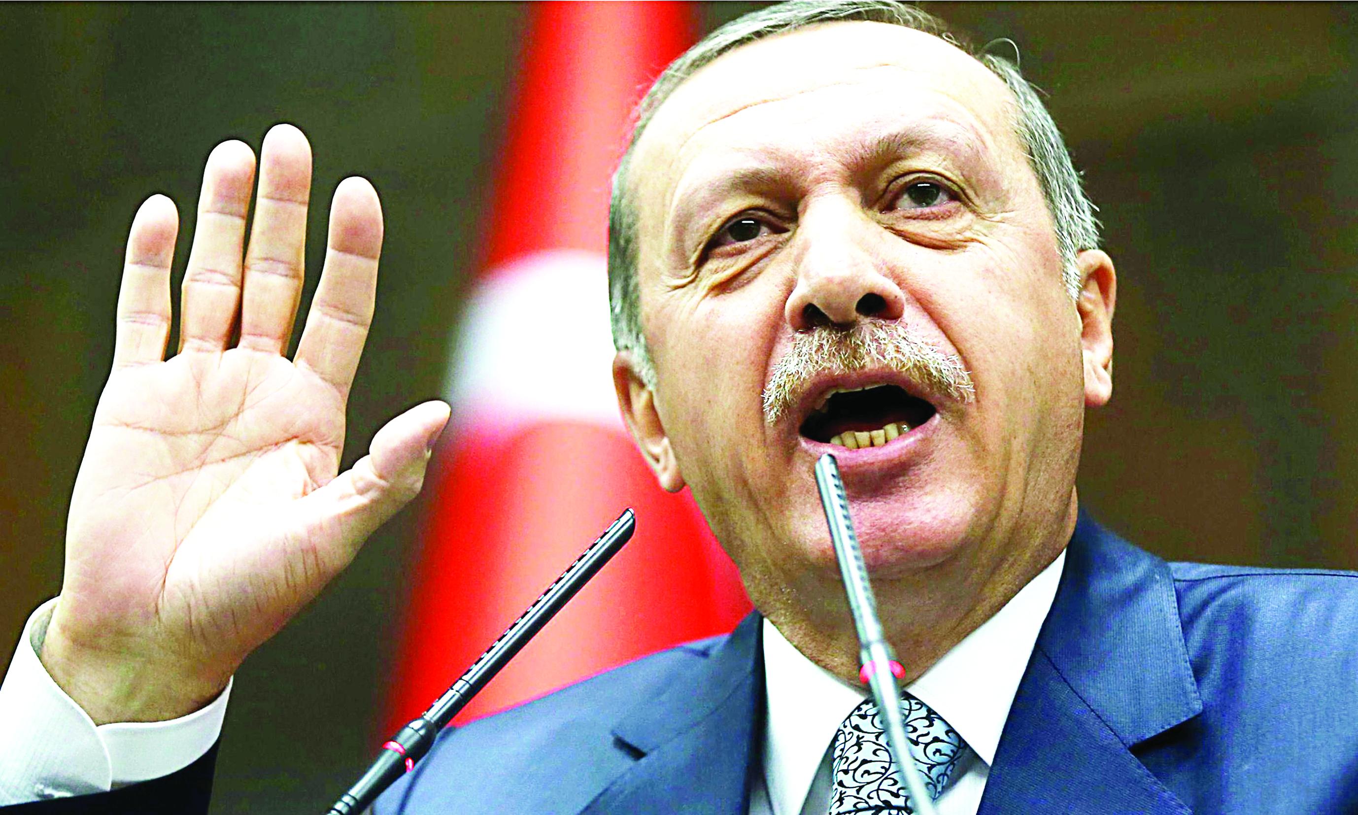 Erdoğan'ın resmen aday
