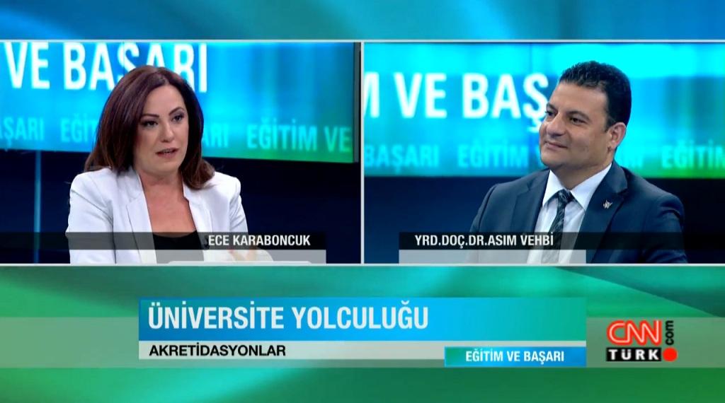 KKTC üniversiteleri CNN Türk'te konuşuldu