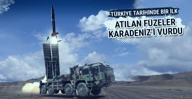 Türkiye'den son dakika füze denemesi tarihte ilk
