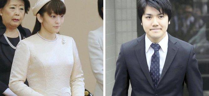 Japon Prenses, aşkı için kraliyet ailesini bıraktı