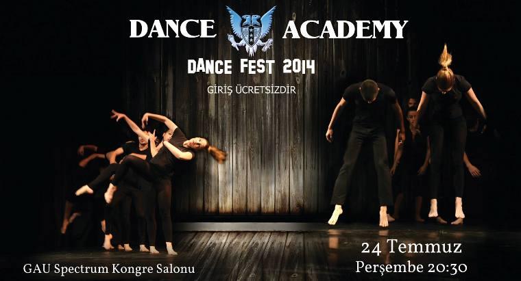 """""""Dans Fest 2014"""" 24 Temmuz'da GAÜ'de yapılıyor"""