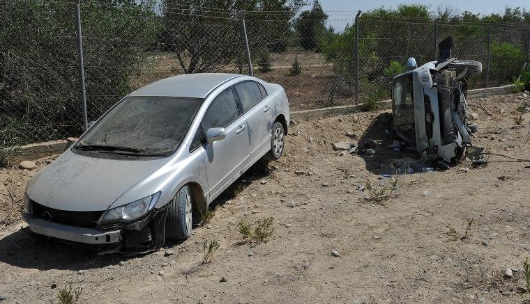 Lefkoşa'da trafik kazası: 2 yaralı