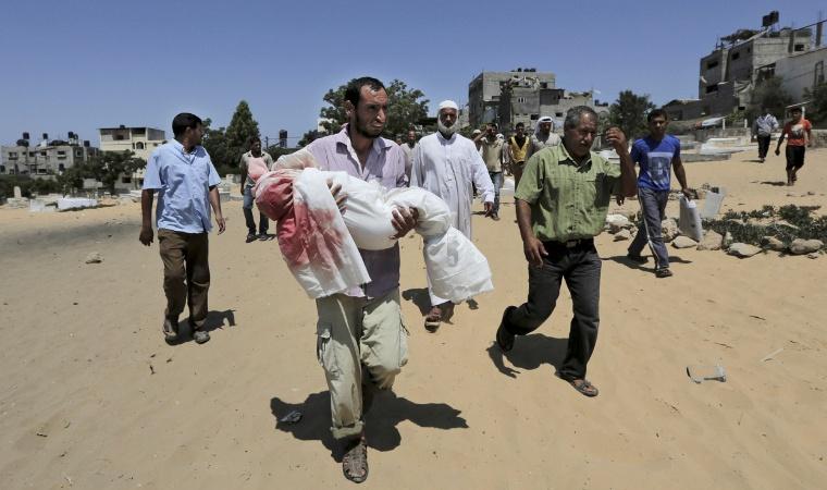 Gazze'de ölü sayısı 100'e yükseldi