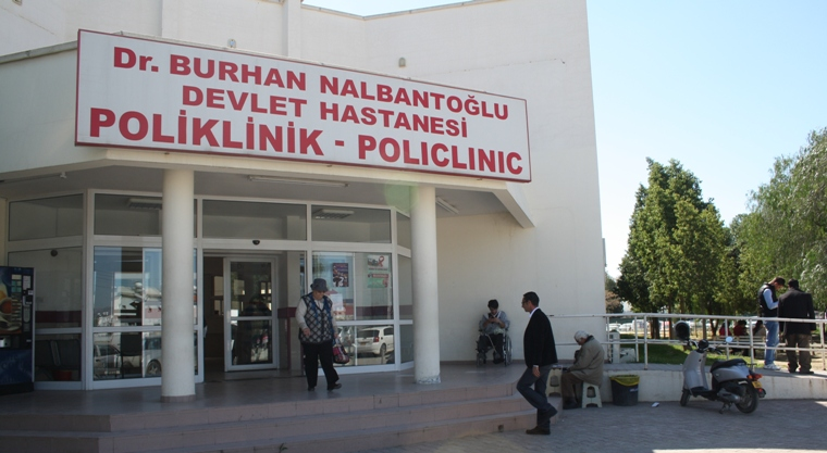 Lefkoşa Devlet Hastanesinde darp