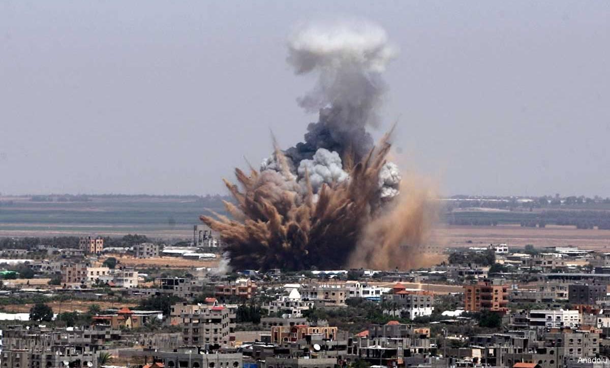 """İsrail'in """"ateşkesi"""" 6 saat sürdü"""