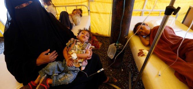 Yemen'deki kolera salgını