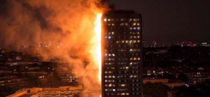 Londra yangınındaki kayıplardan 8'i Etiyopyalı
