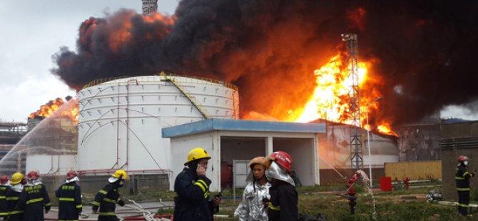 Çin'de fabrika yangını: 6 ölü