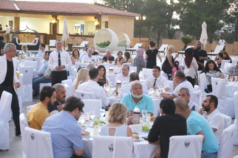 GAÜ'den Le Chateau Lambousa Otel'de unutulmaz iftar yemeği