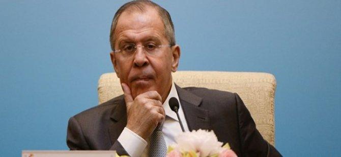 Suriye uçağını düşüren ABD'ye Lavrov'dan tepki