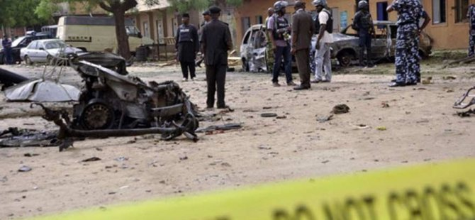 Nijerya'da ülkede eş zamanlı 7 bombalı saldırı
