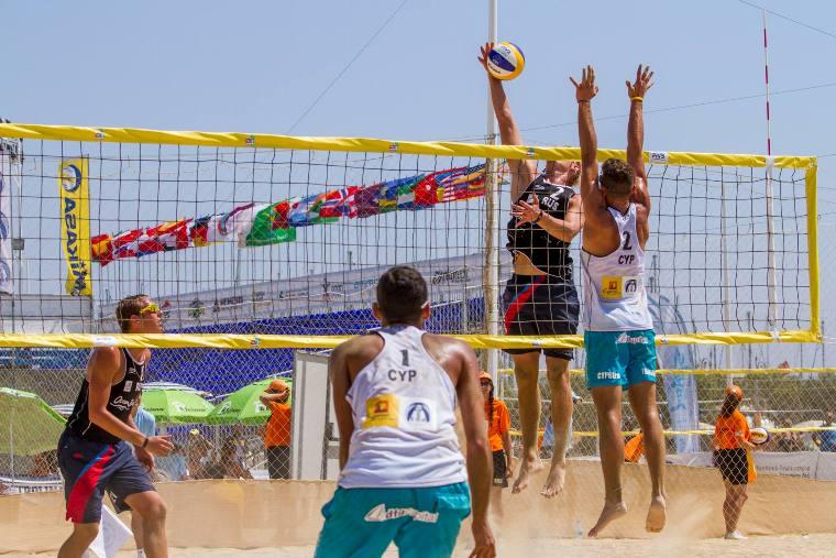 Kıbrıs, U18 Avrupa Plaj Voleyboluna katılıyor