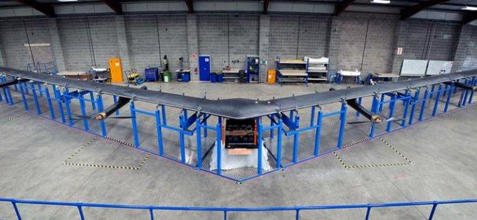 Tüm dünyaya internet sağlayacak drone