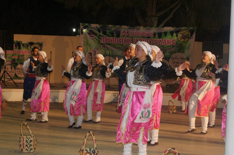 Mehmetçik'te halk dansları şöleni