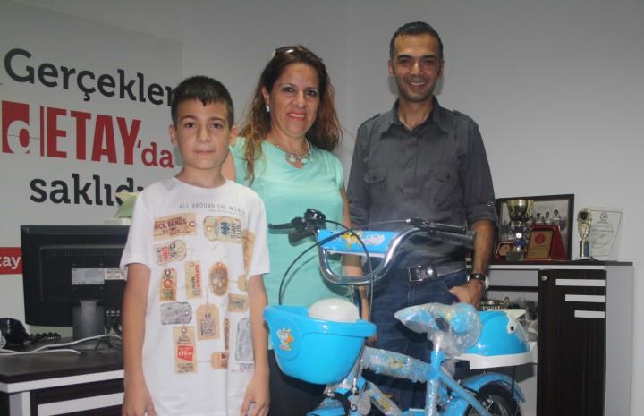 Talihliler bisikletlerini aldı