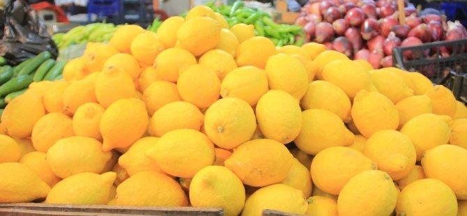 Limon'un fiyatı ateş pahası
