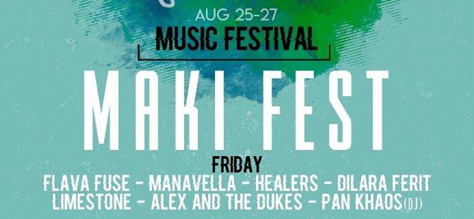 İskele'de 'Maki Festivali' adı altında müzik festivali düzenlenecek