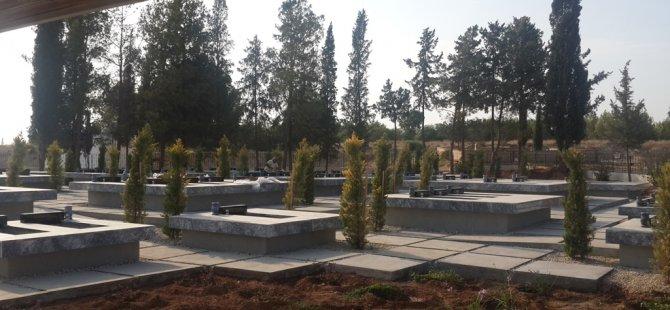 Muratağa-Sandallar Şehitliği yeniden yapıldı, ilk defin yarın