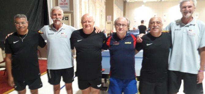 Veteranlar'dan Masa Tenisi'nde önemli başarı